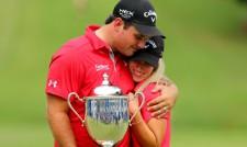 Неприятен инцидент със съпругата на голфър