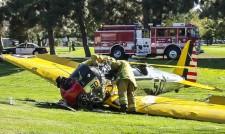 Холивудска звезда разби самолет на голф игрище