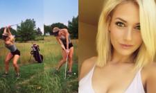 Най-красивата голфърка в света