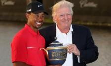 Доналд Тръмп връчва президентски медал на свободата на Тайгър Уудс